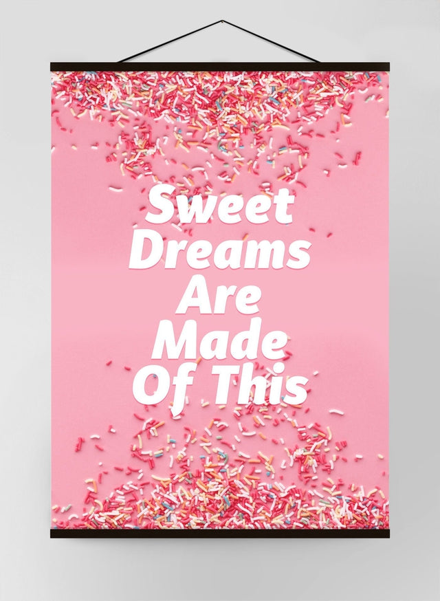 Sweet Dreams Sprinkles Canvas