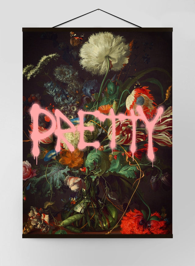 Pretty Flowers Canvas