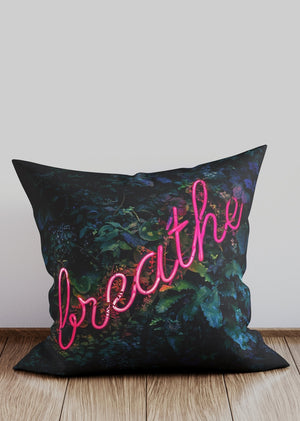 Breathe Neon Cushion