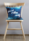 Good Vibes Only Ocean Cushion