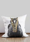 Gold Horse Cushion