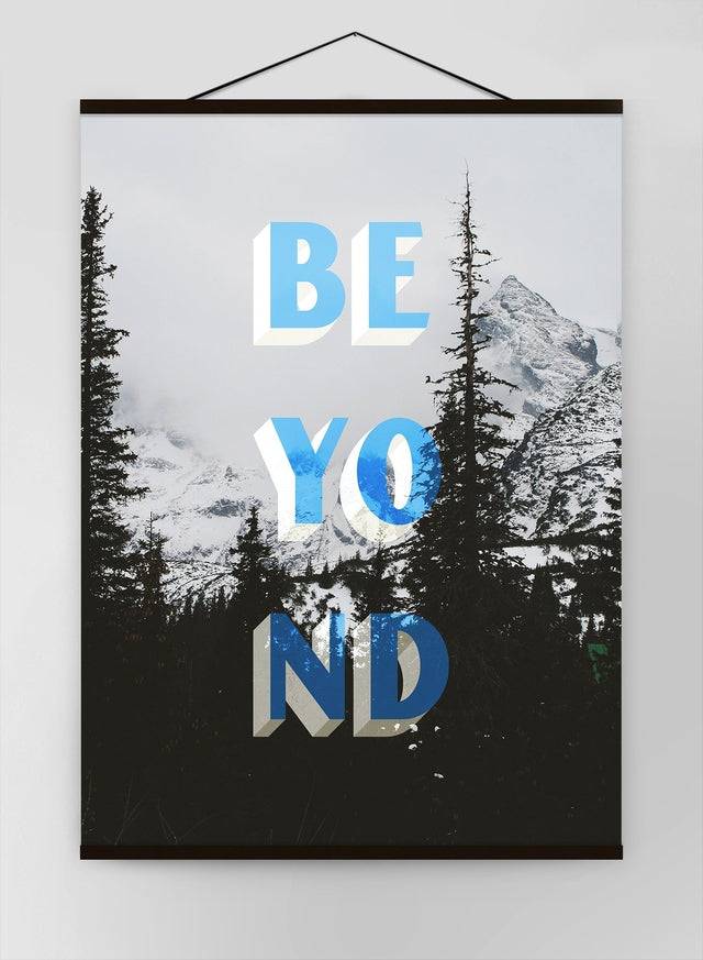 Beyond Typography Woodland Canvas