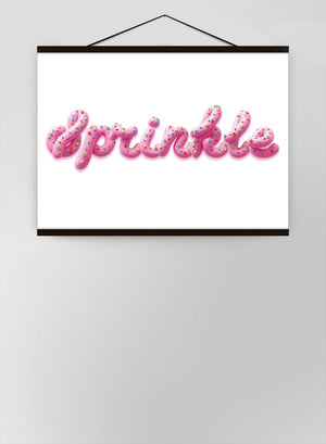 Sprinkle Type Cake Canvas