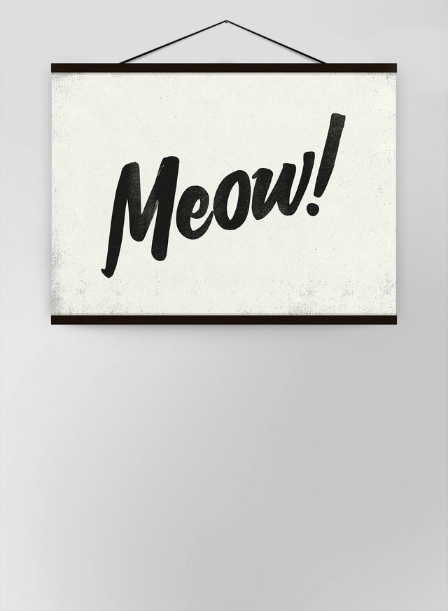 Meow Animal Noises Canvas