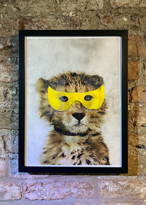 Framed Super Leopard Print