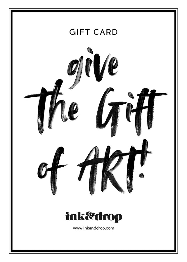 Ink & Drop Gift Card