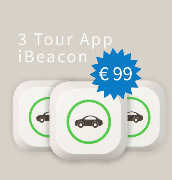 3 Pack - Tour Car Detection iBeacon