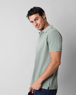 BASIC POLO GREEN