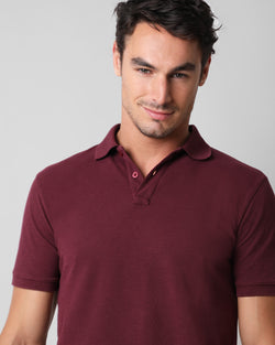 FLAMÉ POLO BURGUNDY