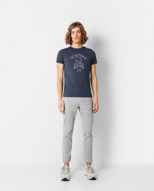 CAMISETA CALAVERA SLIM FIT