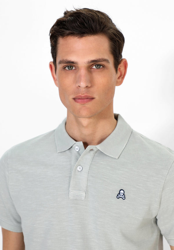 NEW SKULL PATCH POLO