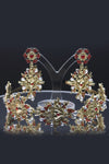 Queen Florence- tiara and earring fashion baroque set - My Roial Ears LTD