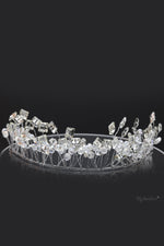 Queen Dorothy- handmade crystal beaded Tiara - My Roial Ears LTD