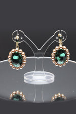 Queen Parks Green - crown and earring set - My Roial Ears LTD