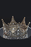 Queen Rosalind-a royal antique crystal metal crown - My Roial Ears LTD