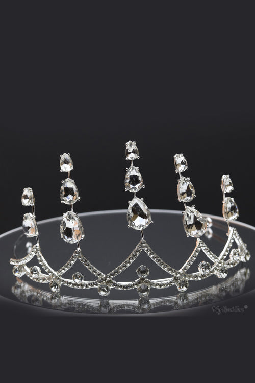 Queen Violet- quality clear crystal stone tiara - My Roial Ears LTD