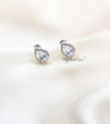 Q.Beth-classic luxury bridal stud earrings - My Roial Ears LTD