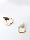 Eos- cute statement gold stud earrings - My Roial Ears LTD