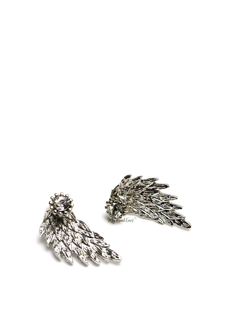 Drea- two in one wing stud earrings