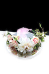 Queen Faith- a floral arrangement crown - My Roial Ears LTD