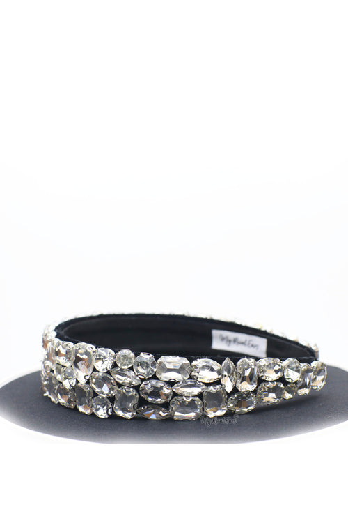 Queen Eithne- extravagance crystal stone headband - My Roial Ears LTD