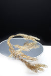 Queen Benazir-golden greek inspired headpiece - My Roial Ears LTD