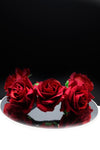 Queen Donna- rose flower headband