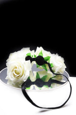 Queen Donna- rose flower headband - My Roial Ears LTD