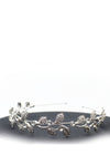 Queen Leda- a charming rhinestone floral crystal headband - My Roial Ears LTD