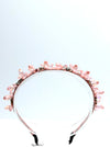 Queen Nash Pink- crystal stone headband
