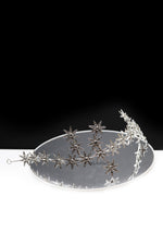 Queen Tegla-silver star shaped headband - My Roial Ears LTD