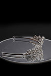 Queen Pania- an exquisite silver heart crystal tiara - My Roial Ears LTD