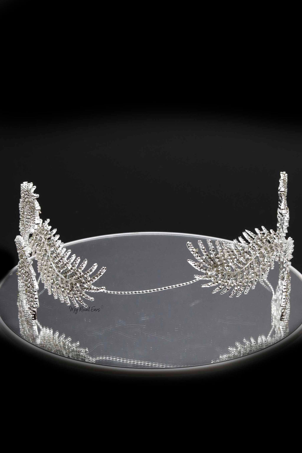Queen Mandy-crystal feather headpiece - My Roial Ears LTD