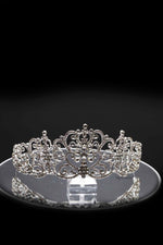 Queen Rachel- classical silver stunning tiara - My Roial Ears LTD