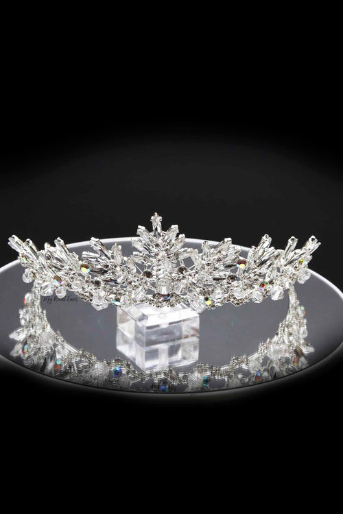 Queen Ada- a delightfully crystal silver wonder - My Roial Ears LTD