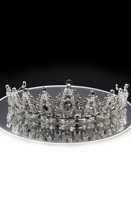 Queen Nelly- an ice crystal royal beauty tiara - My Roial Ears LTD
