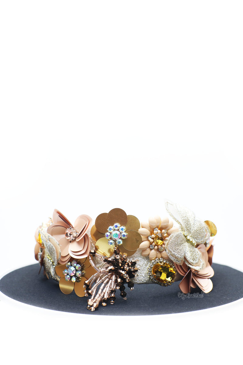 Queen Camilla- embellished fashion headband - My Roial Ears LTD