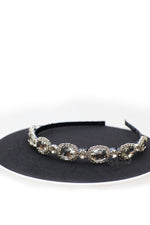Queen Eugenie - elegant rhinestone diamond headband - My Roial Ears LTD