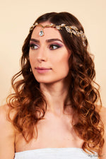 Queen Susan Gold- stunning and elegant headpiece - My Roial Ears LTD