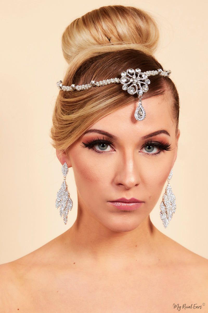 Queen Emily- vintage inspired handmade headpiece - My Roial Ears LTD