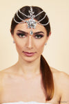 Queen Eleanor- asian floral head chain - My Roial Ears LTD