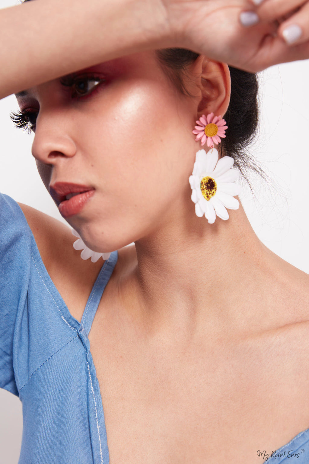 Rosemary-sweet summer beach flower earrings - My Roial Ears LTD