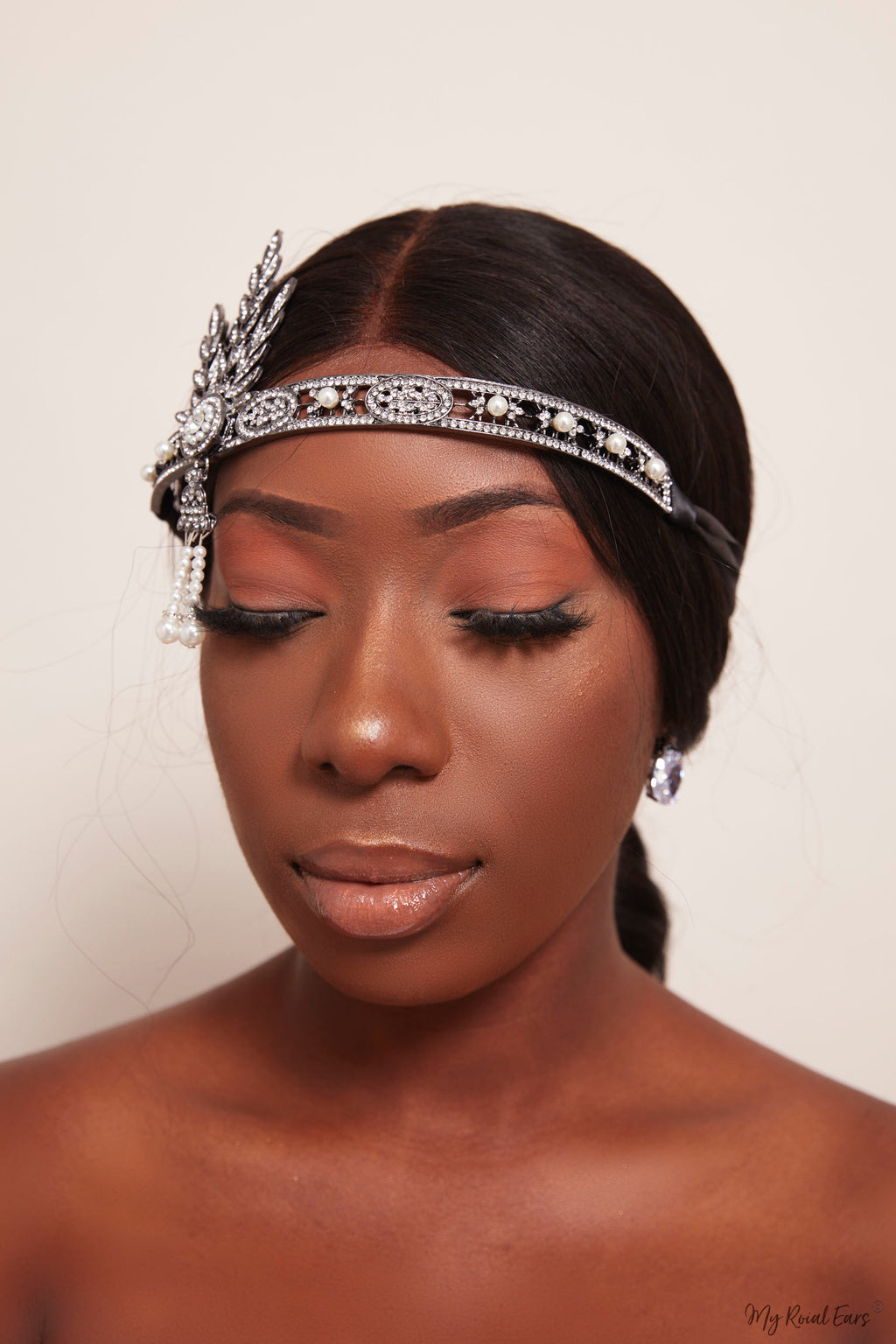 Queen Fats- the gatsby headband - My Roial Ears LTD