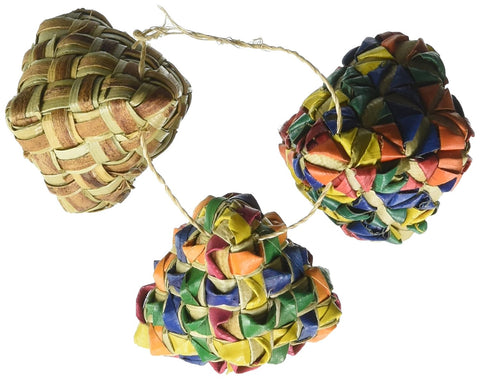 Diamond Woven Foot Toy - 3 Pack