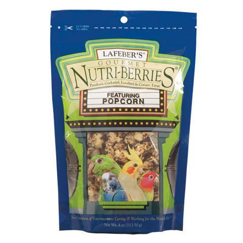 Popcorn Nutri-Berries Cockatiel 4oz