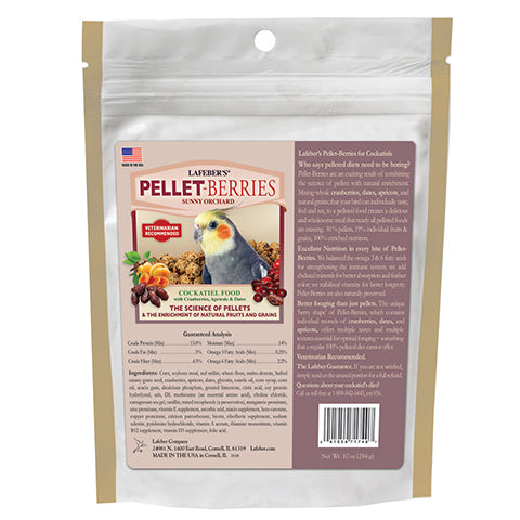 Pellet-Berries Cockatiel 10oz