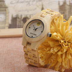 Lovely emoji Wooden Watch With Wooden BOX