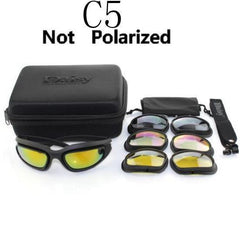 Polarized X7 Tactical Shatterproof USA Military Goggles