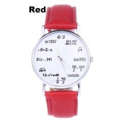 Math Watch With Mathematical Expressions