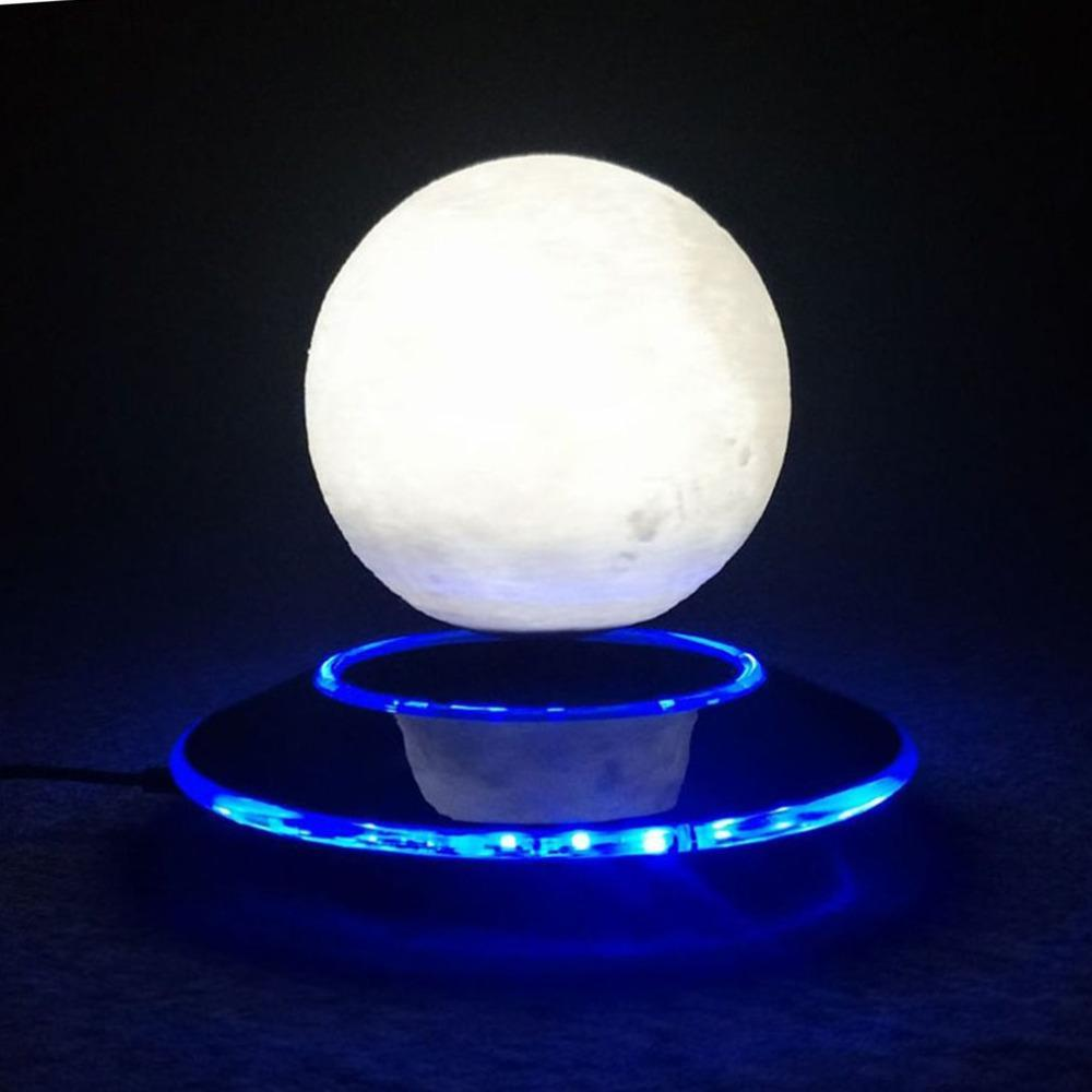 3D Magnetic Levitation Moon Lamp